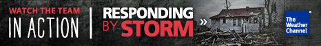 Watch the team - Responding By Storm at The Weather Channel